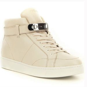 Coach | Robby Pebbled Leather Sneaker Bootie